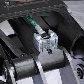 SuperGrip II mit langlebigem Hydraulikzylinder unda Nippelschutz