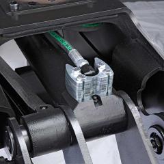 PHILIPP ForstWerkzeuge HULTDINS Holzgreifer SuperGrip II mit langlebigem Hydraulikzylinder und Nippelschutz