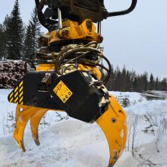 PHILIPP ForstWerkzeuge HULTDINS SuperSaw beim Wintereinsatz