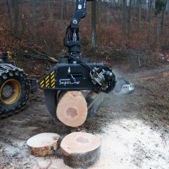 PHILIPP ForstWerkzeuge HULTDINS SuperSaw beim Holz sägen