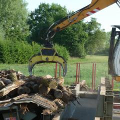 PHILIPP ForstWerkzeuge INDEXATOR IR Einbaurotator mit HULTDINS MultiGrip TL Greifer