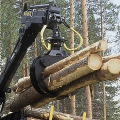 PHILIPP ForstWerkzeuge INDEXATOR Forst Rotatoren G 12-2 A mit HULTDINS SuperGrip I