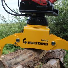 PHILIPP ForstWerkzeuge INDEXATOR Kompaktrotator  XR mit HULTDINS MultiGrip 16