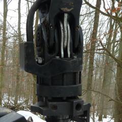 PHILIPP ForstWerkzeuge INDEXATOR Forst Rotator für Holzgreifer GV 141-Y mit ROKE Schnellwechsler