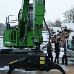 INDEXATOR Forst Rotator für Greifersäge