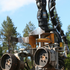 PHILIPP ForstWerkzeuge INDEXATOR Forst Rotator für Harvester 4500kg
