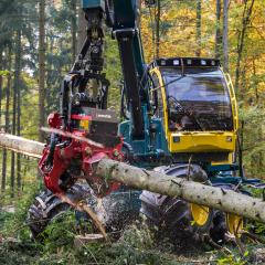PHILIPP ForstWerkzeuge Harvesterkopf mit INDEXATOR H 182 Rotator