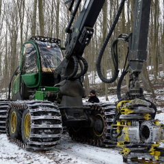 PHILIPP ForstWerkzeuge INDEXATOR Rotatoren für Harvester, Harvesterkopf mit H Rotator