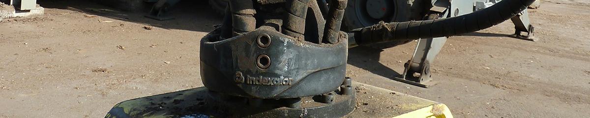 PHILIPP ForstWerkzeuge INDEXATOR Rotatoren, 25000 Kg statische Last, hydraulischer Rotator, hydraulischer Drehservo, hydraulischer Drehmotor
