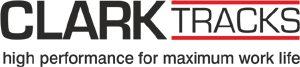 PHILIPP ForstWerkzeuge CLARK TRACKS Logo, Forstbänder, Bogiebänder,