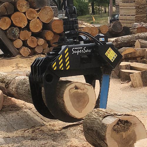 PHILIPP ForstWerkzeuge HULTDINS SuperSaw, Greifer, Holzgreifer, Greifersägen, Holzernte, Kraftpaket