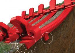 PHILIPP ForstWerkzeuge CLARK TRACKS Forstbänder Hangeinsatz, Grouzer (GL 84), Zugkraftübertragung