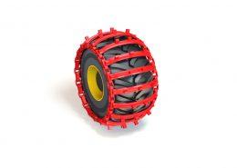 PHILIPP ForstWerkzeuge CLARK TRACKS Forstbänder Einzelräder, Grouzer Super Grip (GSG)