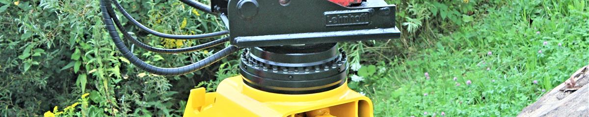 PHILIPP ForstWerkzeuge INDEXATOR Rotator XR 500, 70000 Kg statische Last, Kompaktrotatoren, XR-Kompaktrotator, hydraulischer Rotator, hydraulischer Drehservo, hydraulischer Drehmotor
