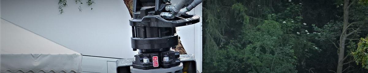 PHILIPP ForstWerkzeuge INDEXATOR Rotator GV 6 A, 6000 Kg statische Last, Rotatoren für Holzgreifer, Drehmoment 1150 Nm