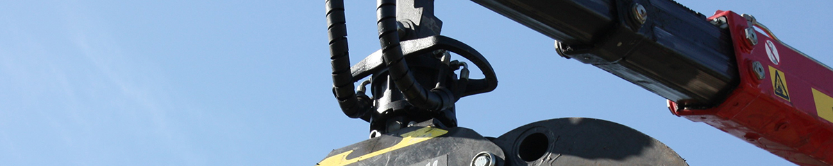 PHILIPP ForstWerkzeuge INDEXATOR Rotator G 12-2, 10000 Kg statische Last, Rotatoren für Holzgreifer, Drehmoment 2200 Nm