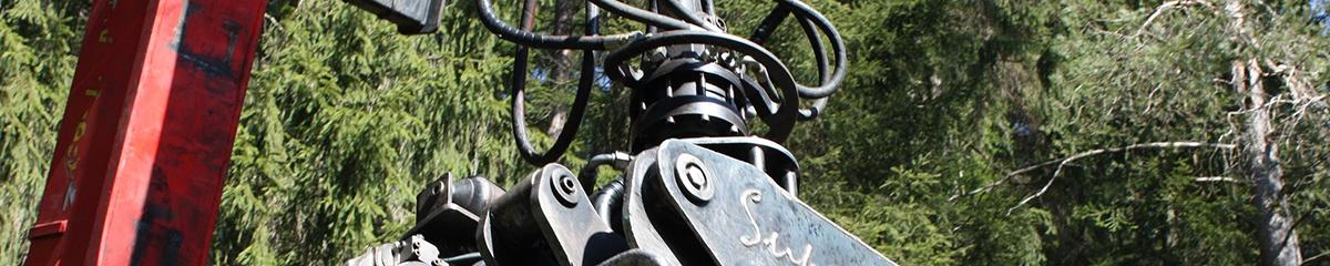 PHILIPP ForstWerkzeuge INDEXATOR Rotatoren für Greifersägen, Rotator für hydraulische Säge, Drehmotor für hydraulische Säge