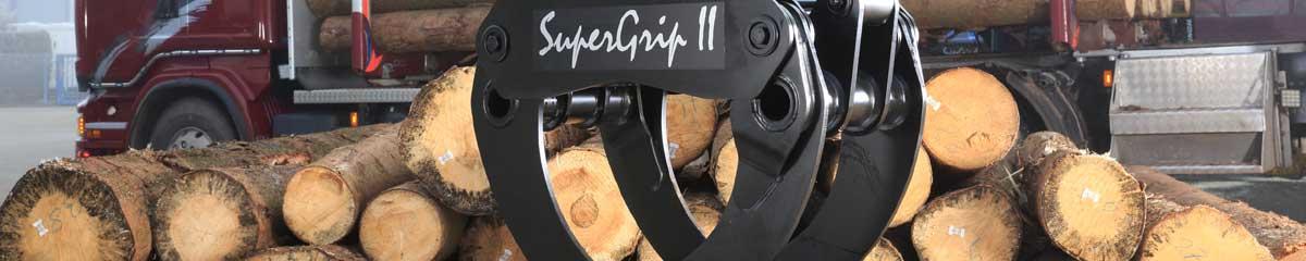PHILIPP ForstWerkzeuge HULTDINS Holzgreifer SuperGrip II, SuperGrip Serie 2, Holztransporte, Greifer