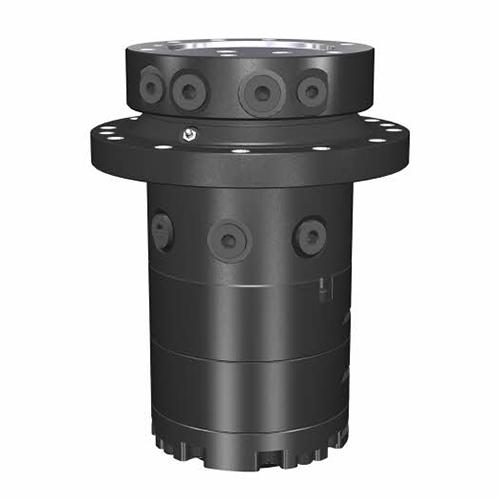 PHILIPP ForstWerkzeuge INDEXATOR Rotator IR 12, 25000 Kg statische Last, 2900 Nm, hydraulischer Rotator, hydraulischer Drehservo, hydraulischer Drehmotor