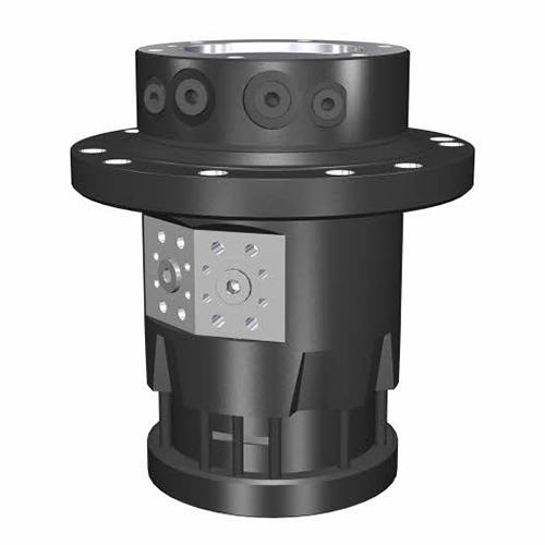 PHILIPP ForstWerkzeuge INDEXATOR Rotator IR 20, 45000 Kg statische Last, 4100 Nm, hydraulischer Rotator, hydraulischer Drehservo, hydraulischer Drehmotor