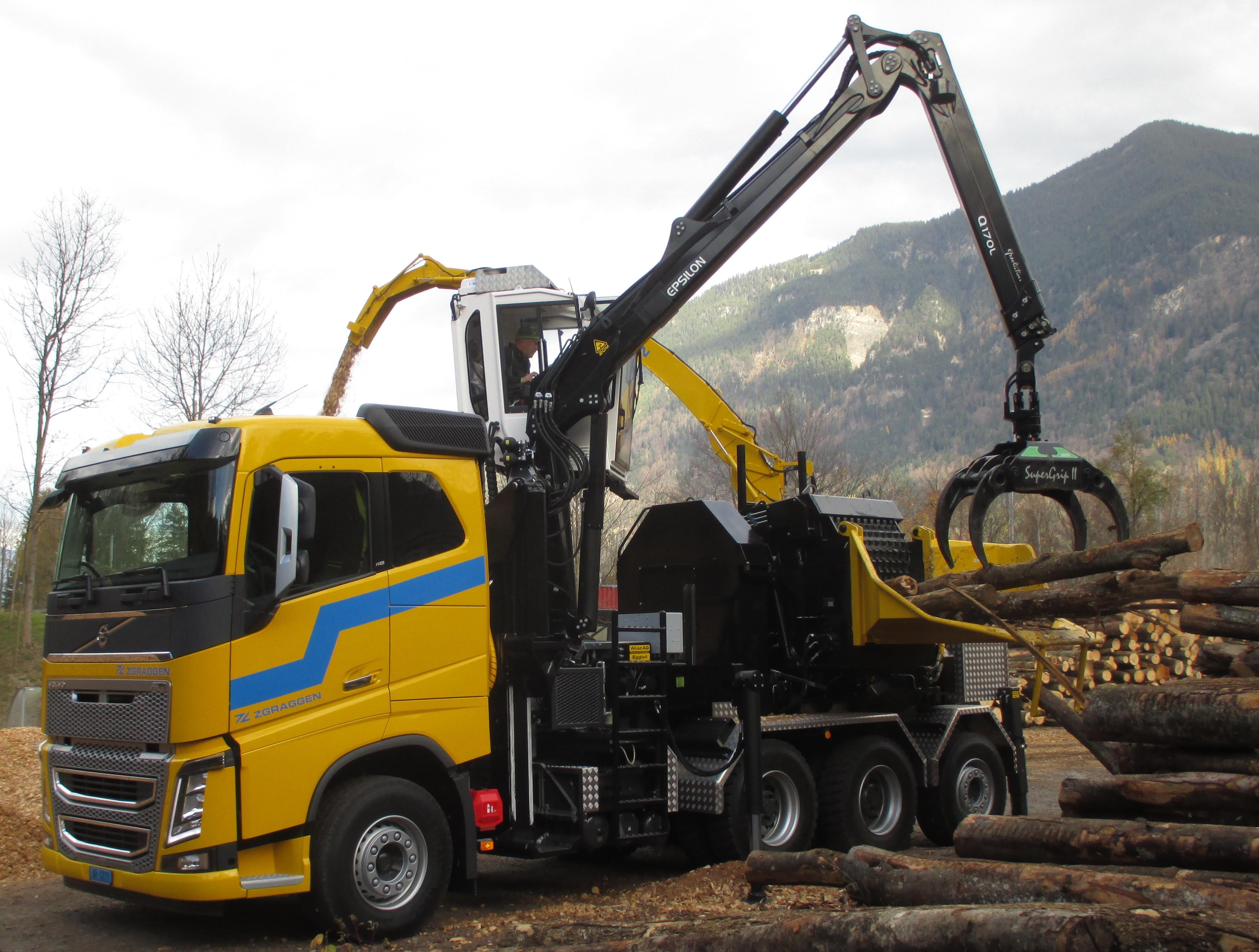 PHILIPP ForstWerkzeuge HULTDINS Holzgreifer SuperGrip II-R, Moderner Großhacker mit SuperGrip 360 II-R