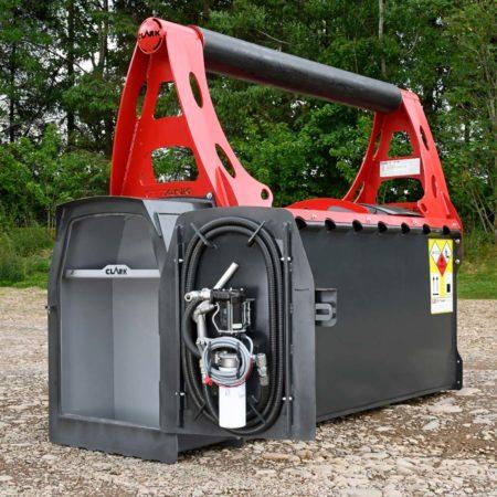 Mobiler Dieseltank für Forstmaschinen