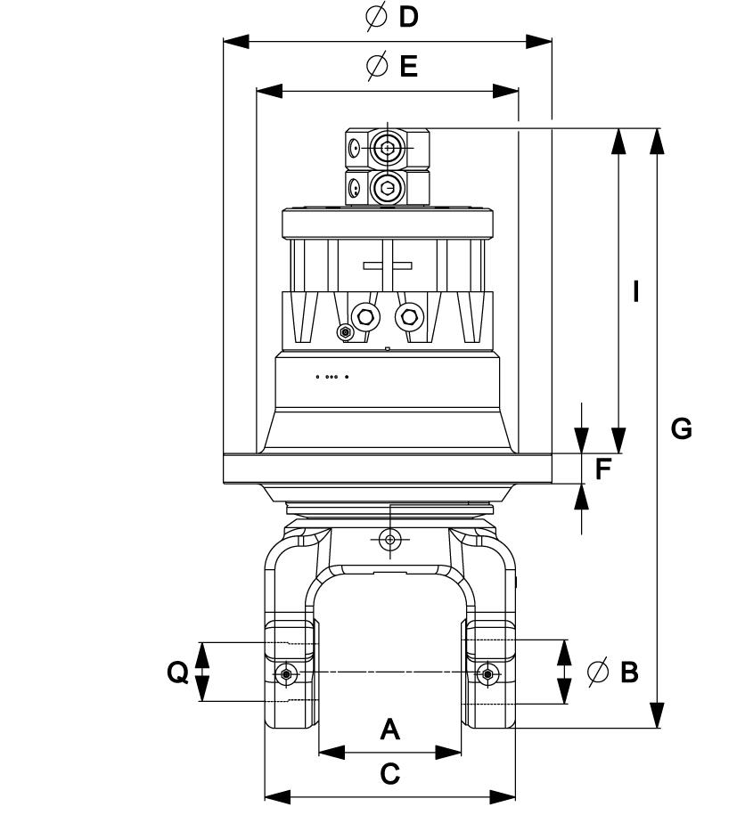 indexator-forst-rotator-zangenschlepper-rotator-für-zangenschlepper-rotator-grapple-skidder-rotator-für-skidder