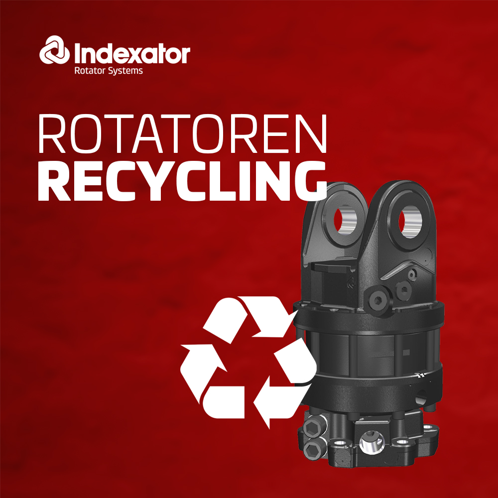 PHILIPP ForstWerkzeuge INDEXATOR Rotatoren Recycling