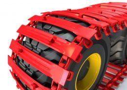 PHILIPP ForstWerkzeuge CLARK TRACKS Forstbänder für Weichböden, Super Flotation 15 (SFL15), Detail