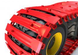PHILIPP ForstWerkzeuge CLARK TRACKS Forstbänder für Weichböden, Super Flotation 16 (SFL16), Detail