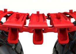PHILIPP ForstWerkzeuge CLARK TRACKS Forstbänder für Weichböden, Super Flotation 16 (SFL16), Profil