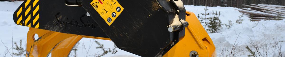 PHILIPP ForstWerkzeuge HULTDINS TL Greifer mit SuperSaw 555 S, Greifer, Holzgreifer, Greifersägen, Holzernte, Kraftpaket
