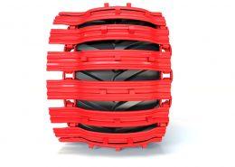 PHILIPP ForstWerkzeuge CLARK TRACKS Forstbänder Einzelräder, TXSG, Profil