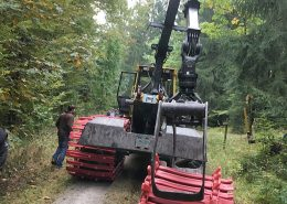 Forsttechnik-Einsatz-Clark-Band-Terra-XCL-TXCL-Bodenschonung