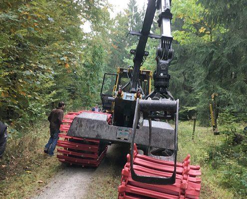 PHILIPP ForstWerkzeuge CLARK TRACKS Forstbänder Bodenschonung, TXCL