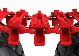 Einsatz-Terra-XFX-TXFX-Clark-Bänder-Bogieband