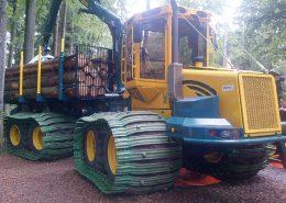 PHILIPP ForstWerkzeuge CLARK TRACKS Forstbänder Bodenschonung, TXL
