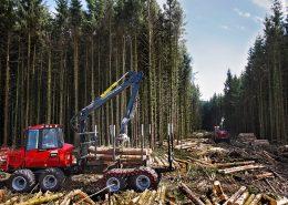 Clark-Band-Terra-Einsatz-TXL150-1000mm-Forsttechnik Bodenschonung