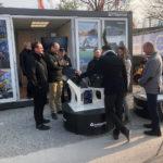 PHILIPP ForstWerkzeuge bei der Bauma 2019, INDEXATOR, Rotatoren, Holzgreifer, hydraulischer Drehmotor