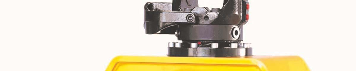 PHILIPP ForstWerkzeuge INDEXATOR IR Einbaurotatoren, hydraulischer Rotator, hydraulischer Drehservo, hydraulischer Drehmotor
